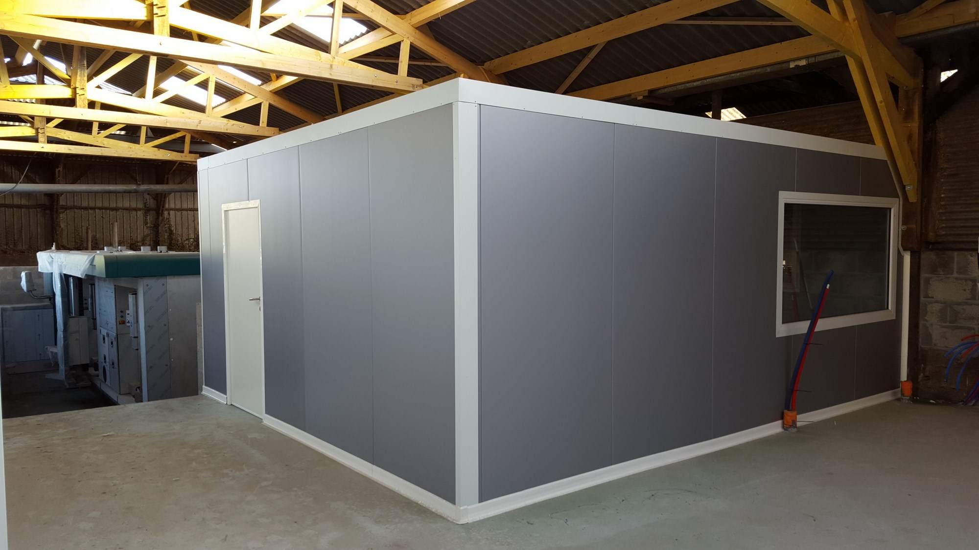 Amenagement bureau panneaux isothermes