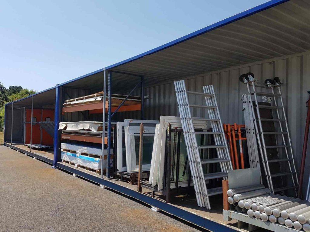 Container materiel Noriso