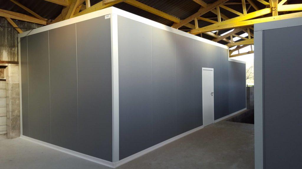 Panneaux isothermes porte de service