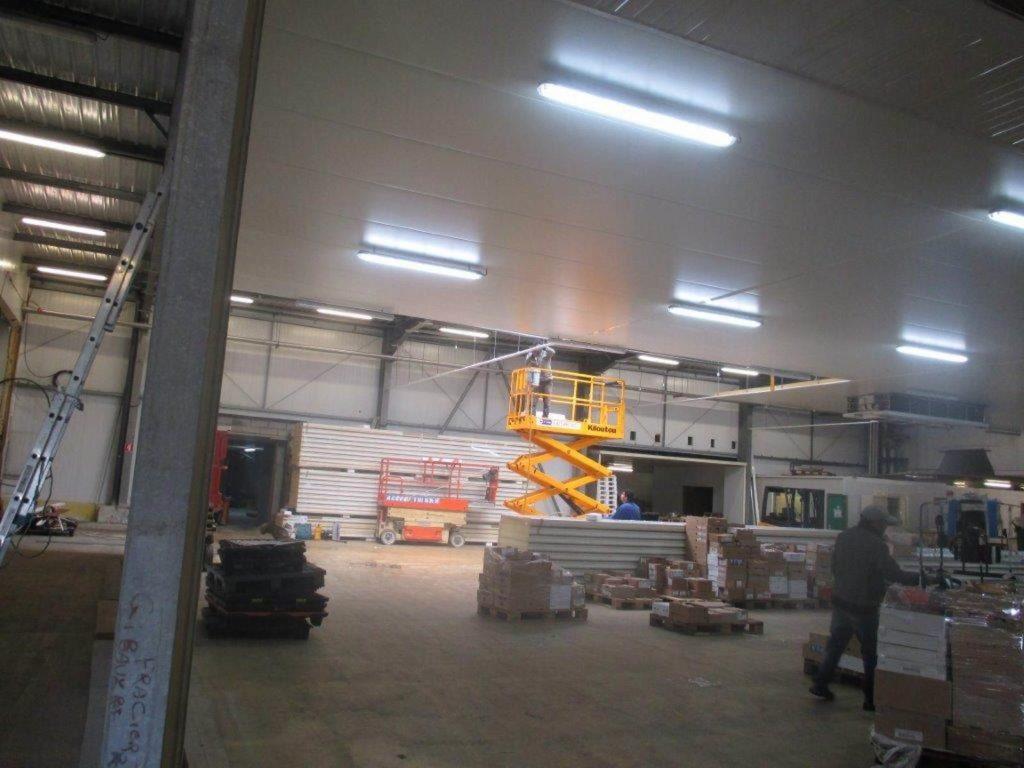 Plafond montage