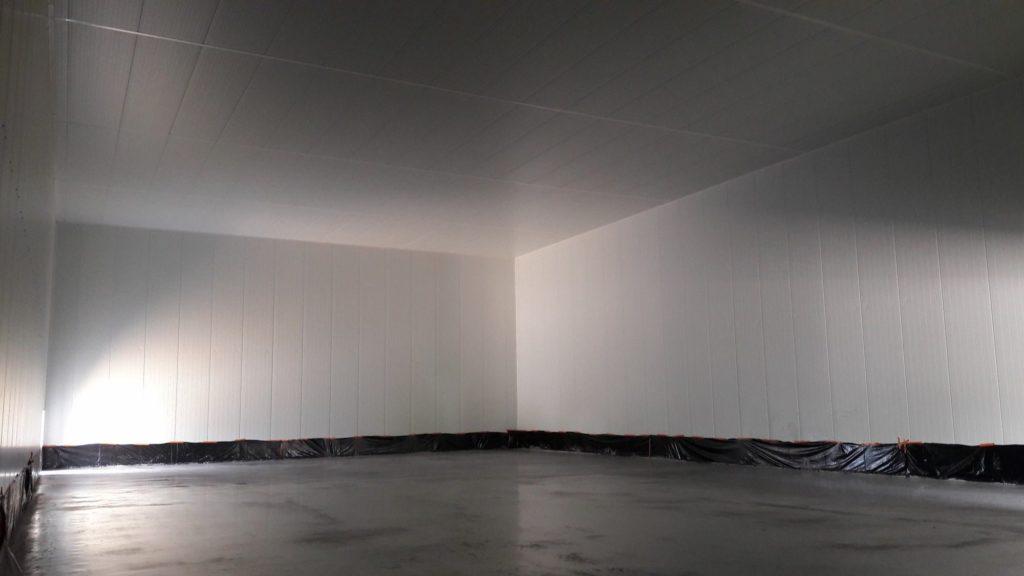 Plafond panneaux isothermes