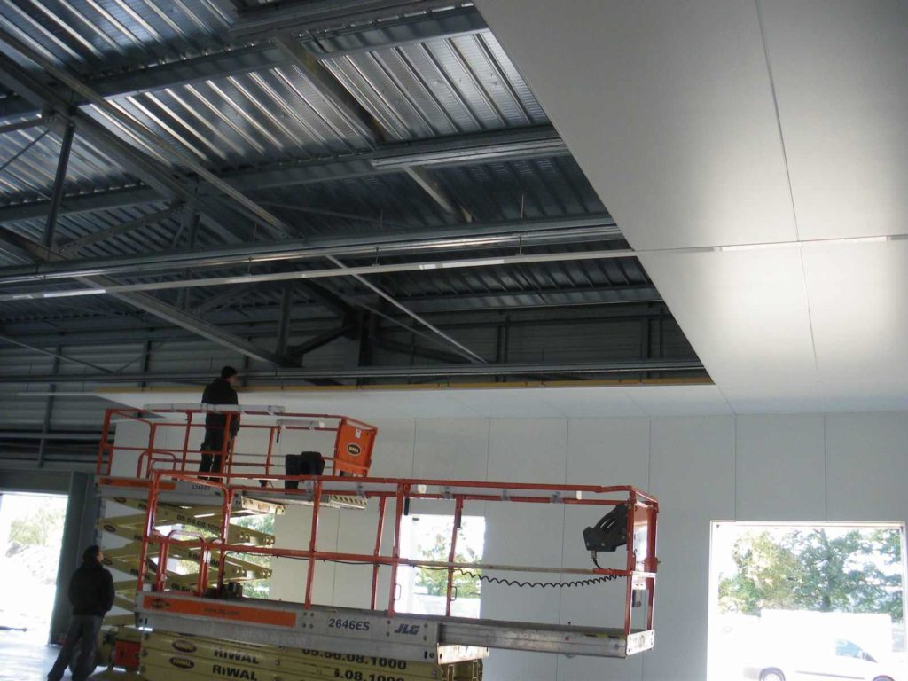 Plafonds montage