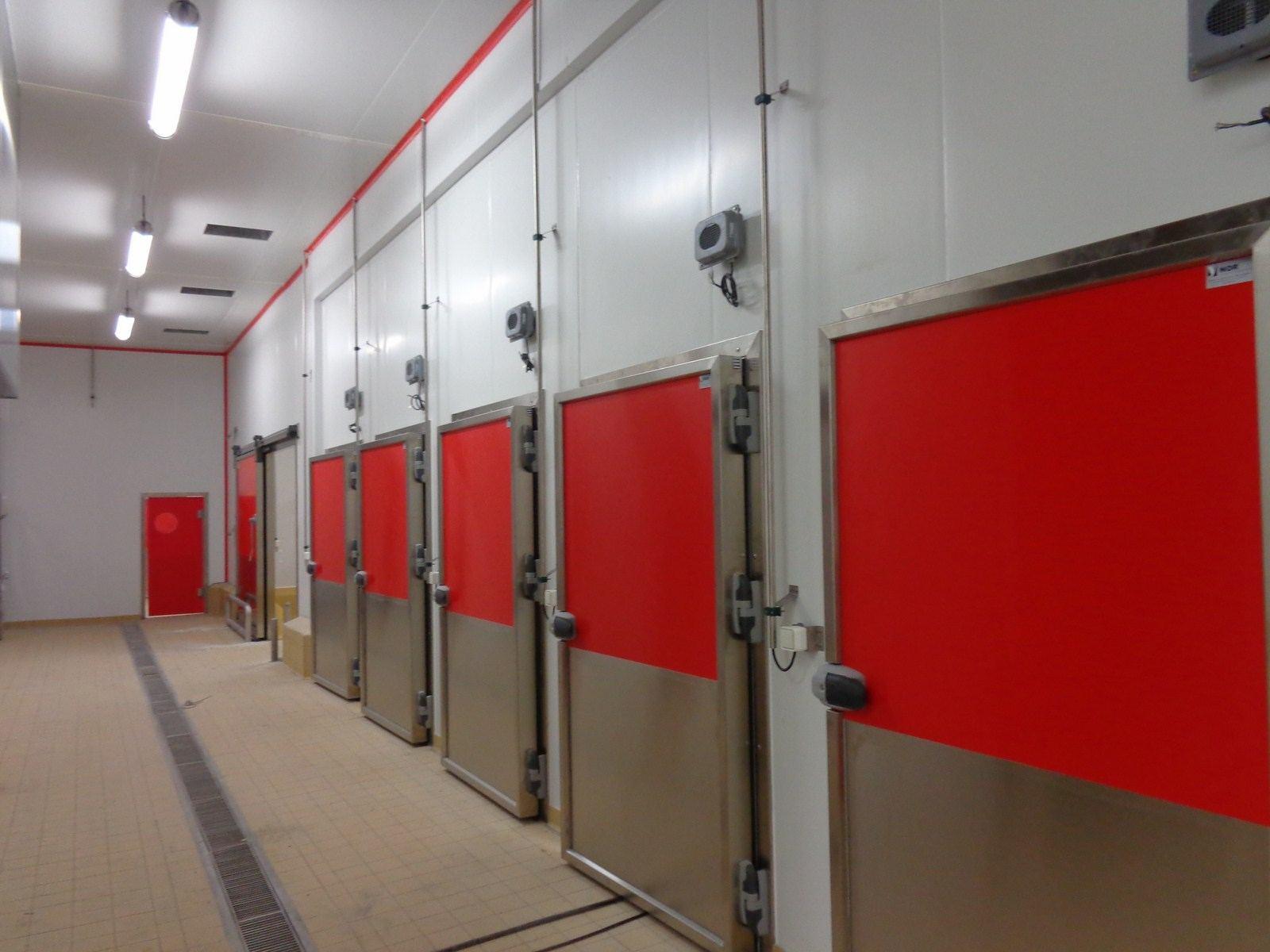 Portes Pivotantes Isothermes de Refrigeration